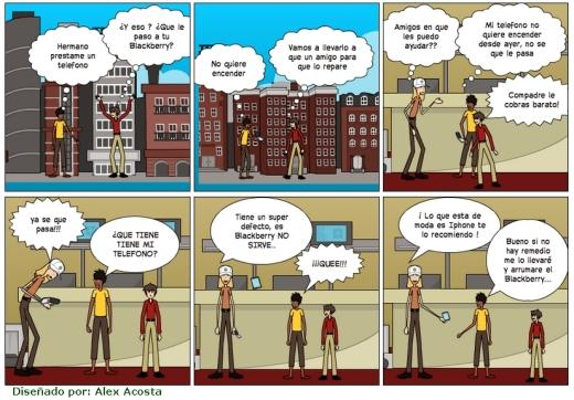 Comics sobre Tegnologia alexucho